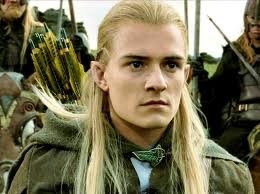 Orlando Bloom in The Hobbit