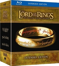 Lord of the Rings Trilogy Extended Blu-ray