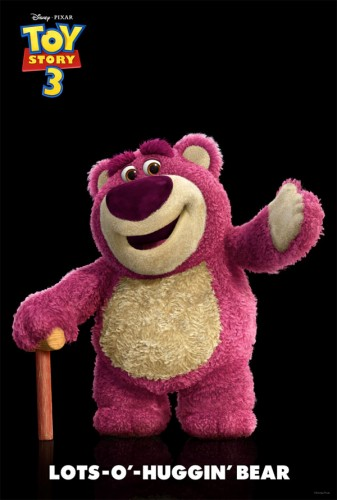 Lotso Huggin Bear from Toy Story 3