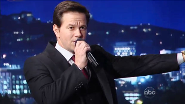 mark wahlberg sings
