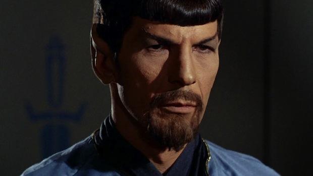 evil beardy spock