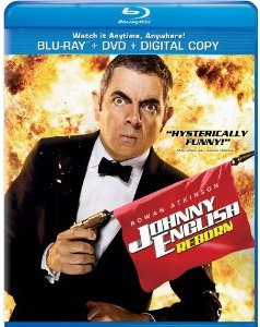 Johnny English Reborn Blu