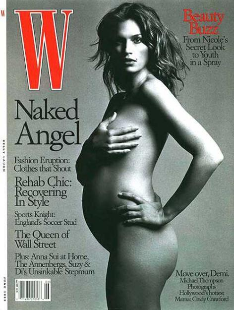Cindy Crawford Nude Pregnant 62