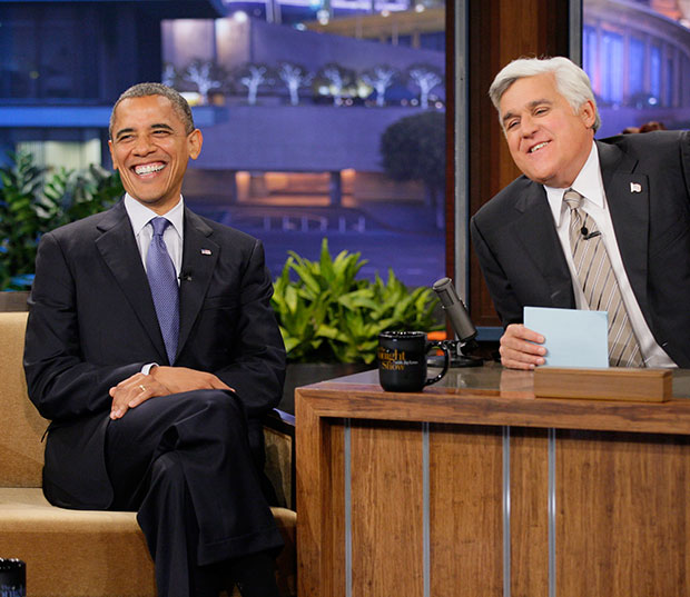 Barack Obama on The Tonight Show with Jay Leno