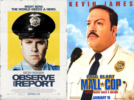 Observe and Report Paul Blart