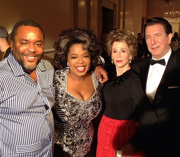 Oprah and the Reagans