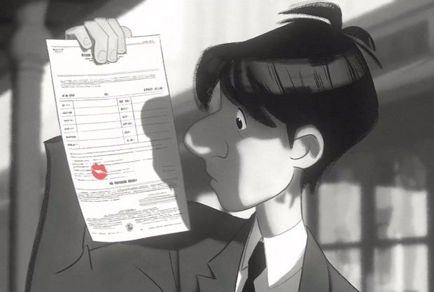 Watch Disney's Oscar-nominated short The Paperman