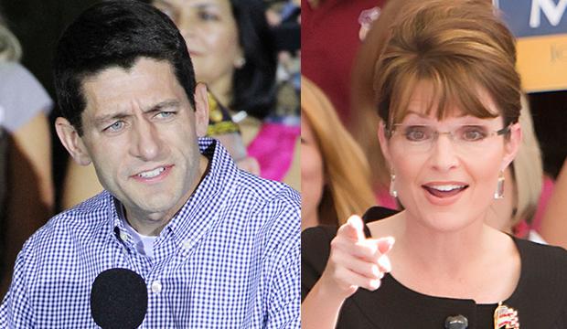 Paul Ryan vs. Sarah Palin