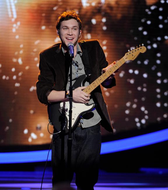 Phillip Phillips Top 9 American Idol Johnny Lang