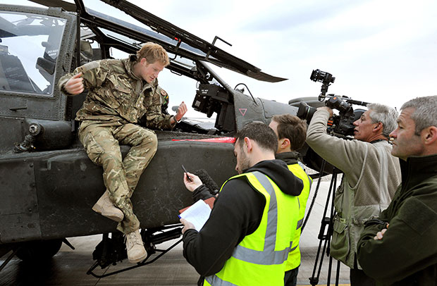 Prince Harry Talks Army Life with BBC