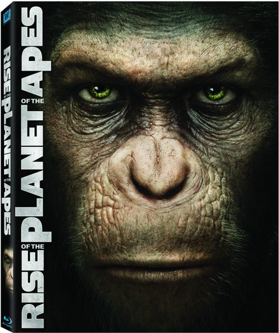 Rise of the Planet of the Apes Box Art