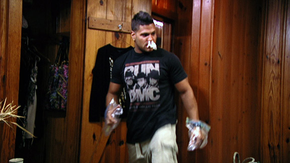 Ronnie Jersey Shore Toilet Clogged