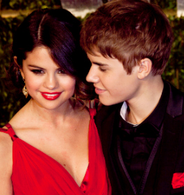 Selena and Bieber together