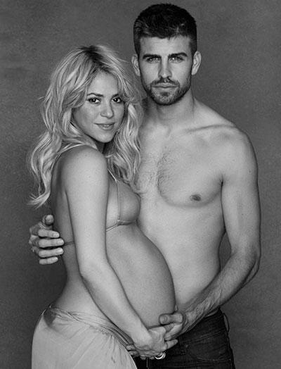 Shakira Baby Bump