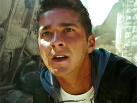 Shia LaBeouf in Transformers 2