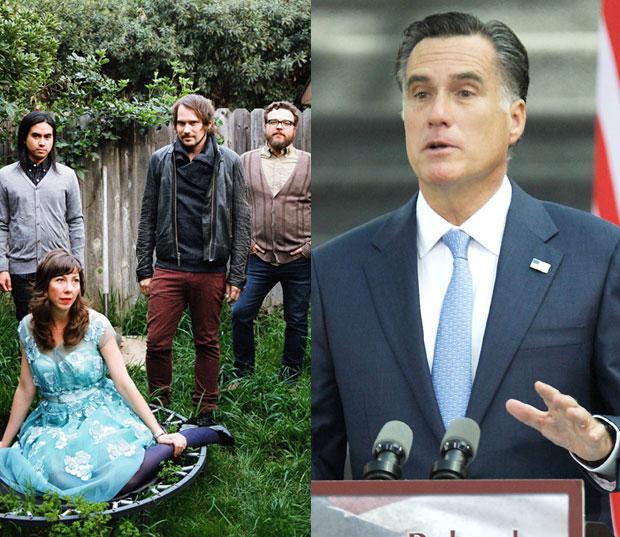Silversun Pickups Mitt Romney