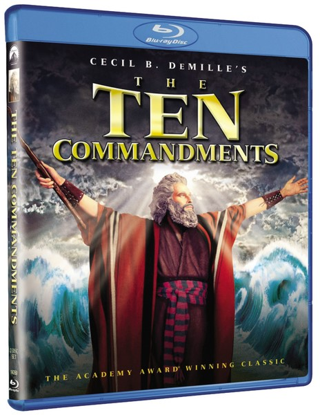 The Ten Commandments Blu-ray
