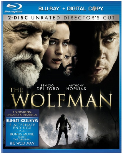 The Wolfman Blu Ray