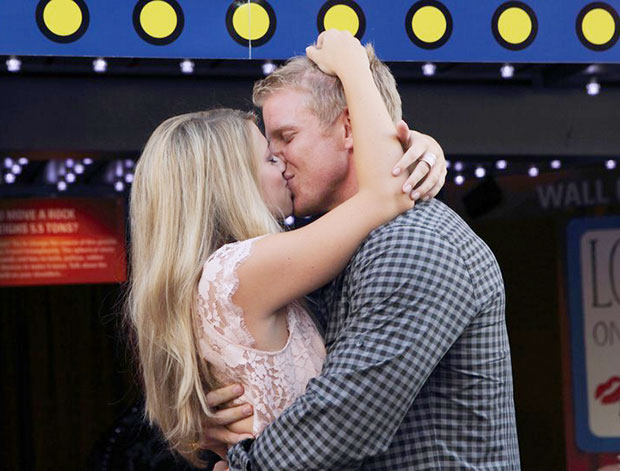The Bachelor Sean Lowe Kiss