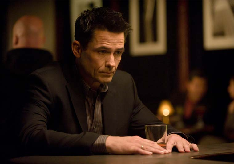Darren Richmond in The Killing attempting to be Don Draper from Mad Men