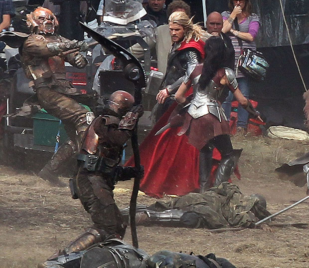 thor dark world fight
