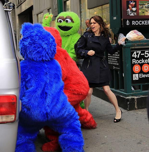 Tina Fey/Muppets
