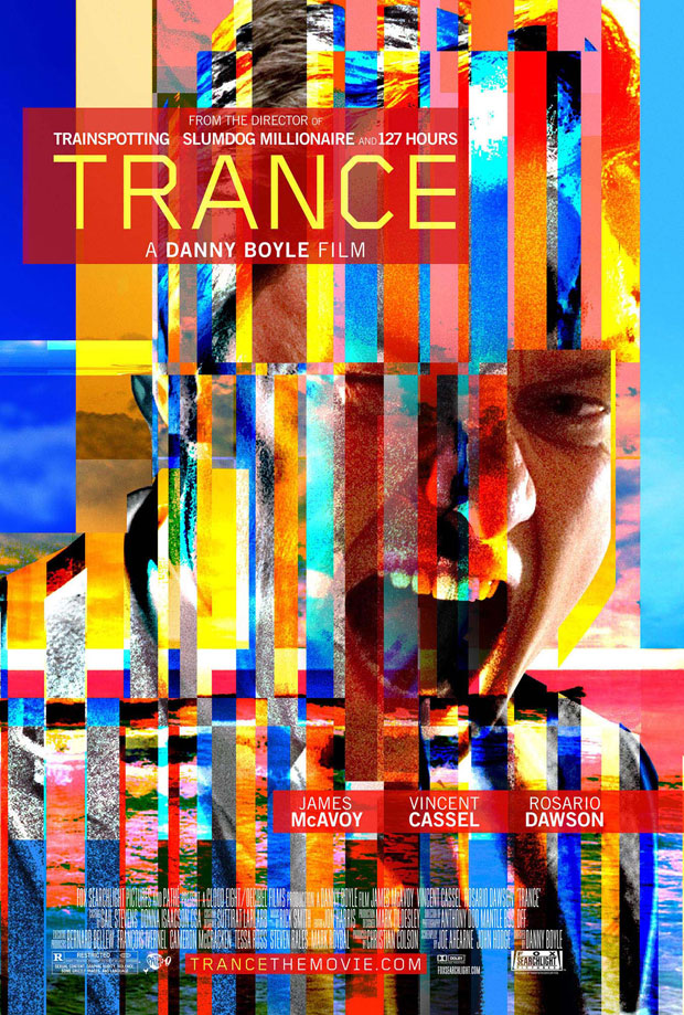 Danny Boyle's Trance poster, release date April 5