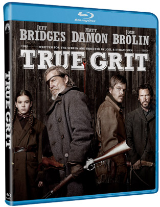 True Grit Blu-ray and DVD