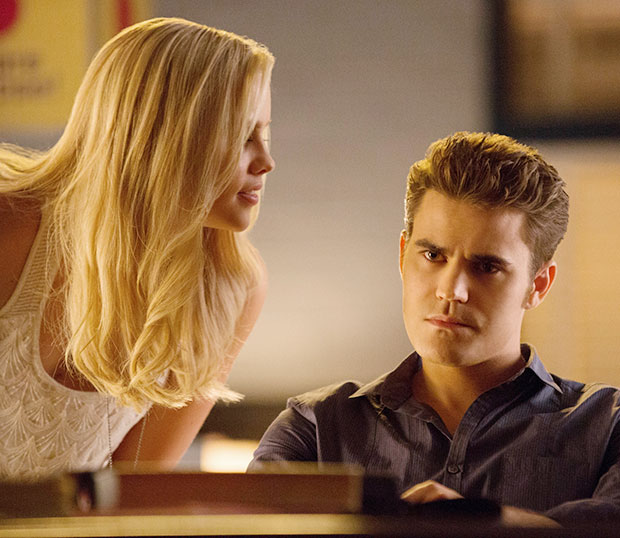 The Vampire Diaries Claire Holt Paul Wesley