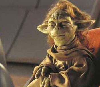 Yaddle, a female member of Yoda's race from The Phantom Menace