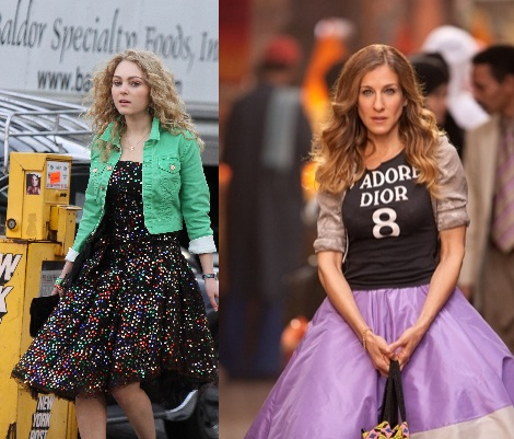 Young Carrie Old Carrie SATC Carrie Diaries
