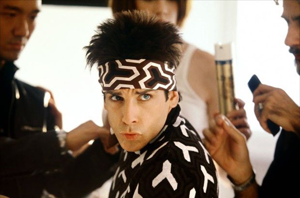 Funny photo Zoolander supermodel